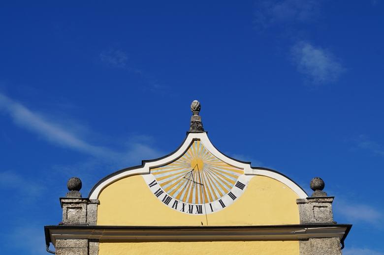 Hellbrunn solar clock