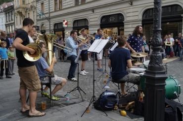 Ljubljana street musicians 3