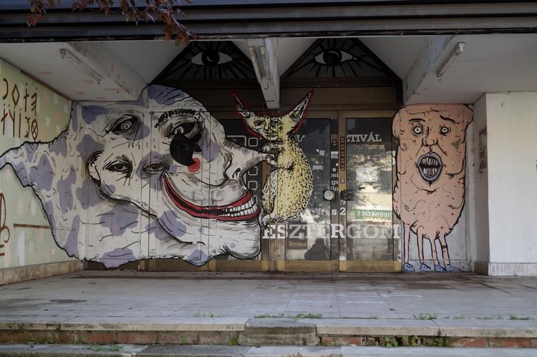 Esztergom graffiti